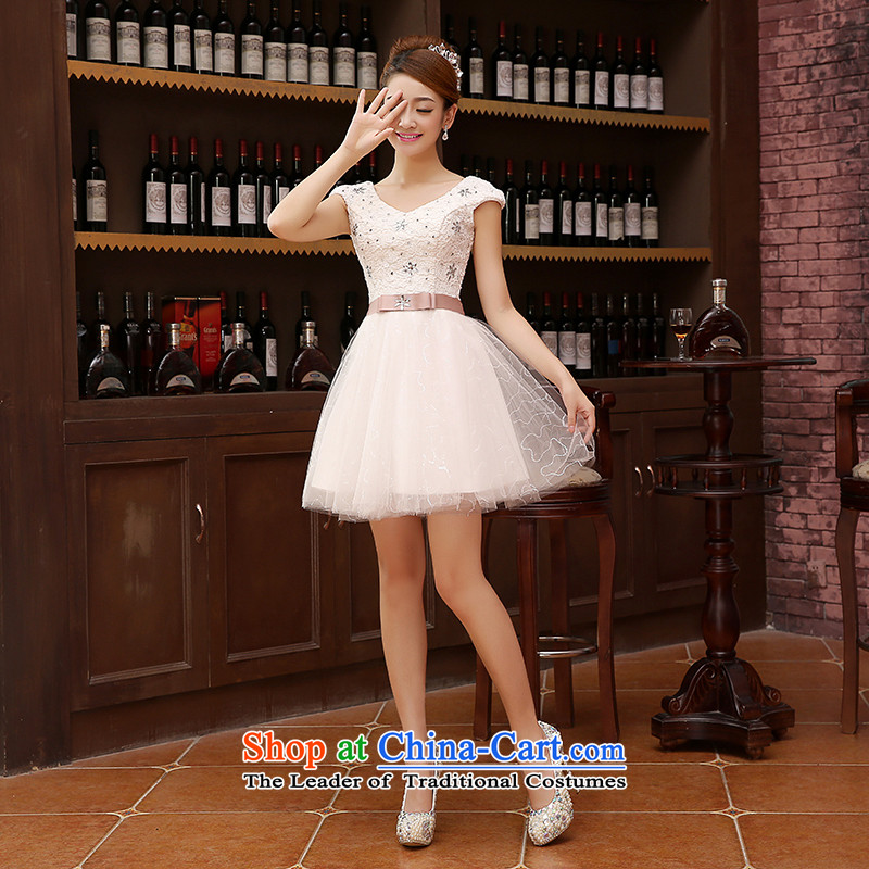 Marriage Wedding Dress Short) bridesmaid equipped with short of marriage evening dresses marriage small white dress?s