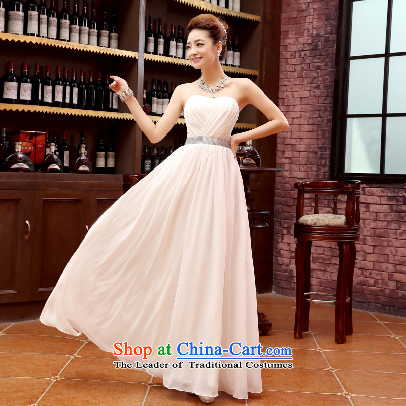 Charlene Choi Ling marriage wedding dresses short) equipped bridesmaid to bind with short of marriage evening dress small white dresses marriage?XL