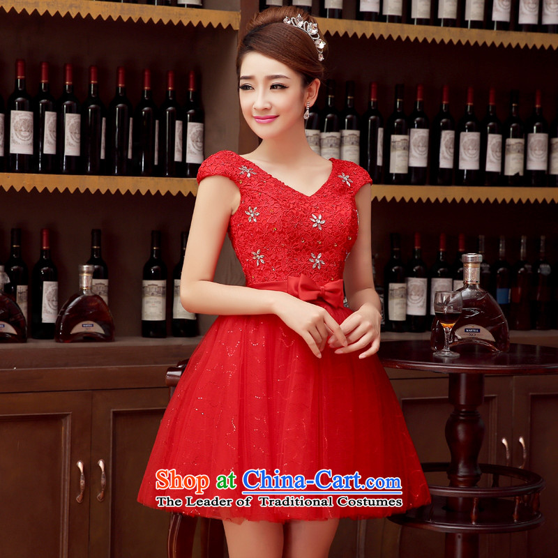 Charlene Choi Ling marriage wedding dresses short) equipped bridesmaid to bind with short of marriage evening dresses marriage small dress�s
