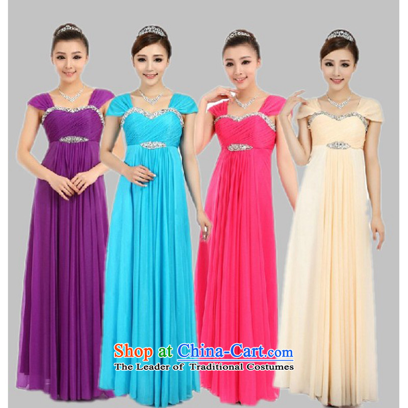 Charlene Choi Ling chorus services choral clothing Female dress bride wedding dress, choir?XXXXL Clothing