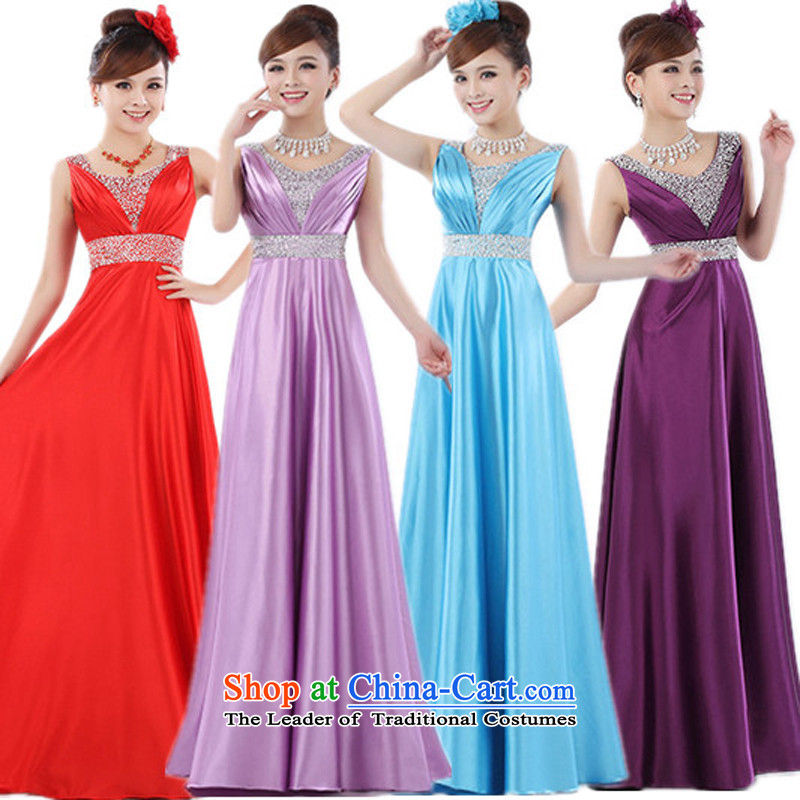 Charlene Choi Ling hot long large evening dresses choral clothing female long skirt female long skirt choral services chorus service?S