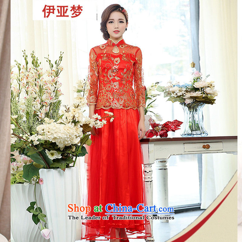 The new 2015 dream wedding dress banquet meeting will miss the wedding banquet two kits bride bows services RED?M