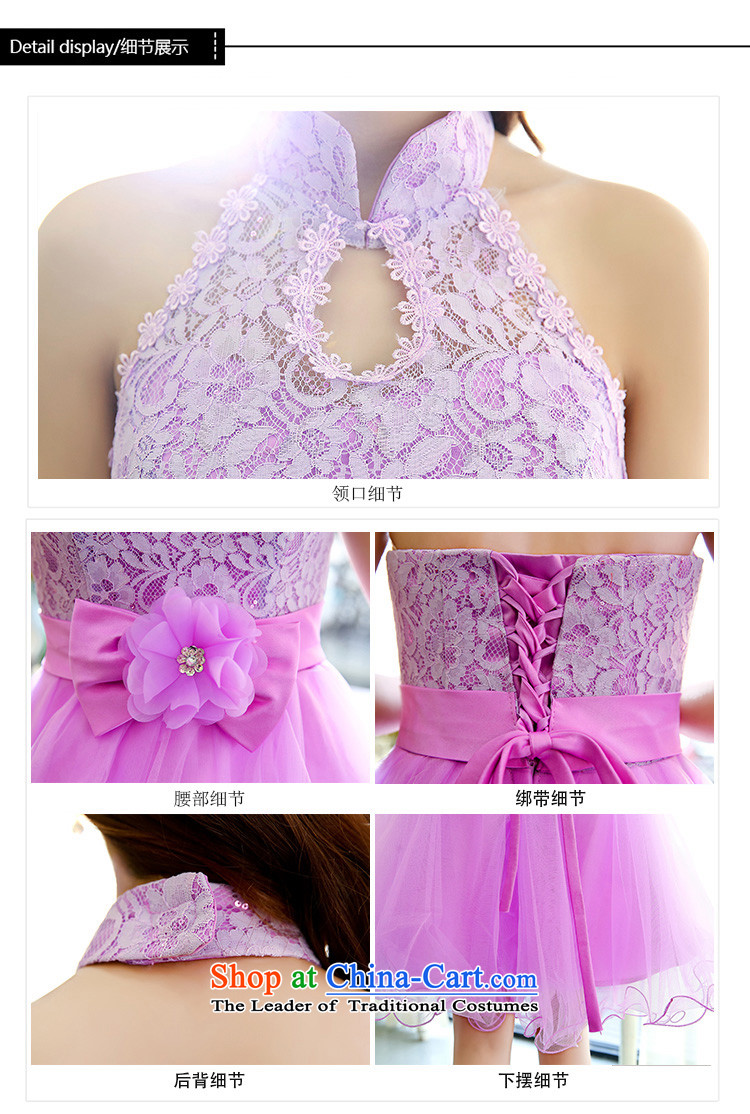 Uyuk   new stylish bows services bridesmaid service wedding dresses irrepressible elegant lace the yarn dresses RED M picture, prices, brand platters! The elections are supplied in the national character of distribution, so action, buy now enjoy more preferential! As soon as possible.
