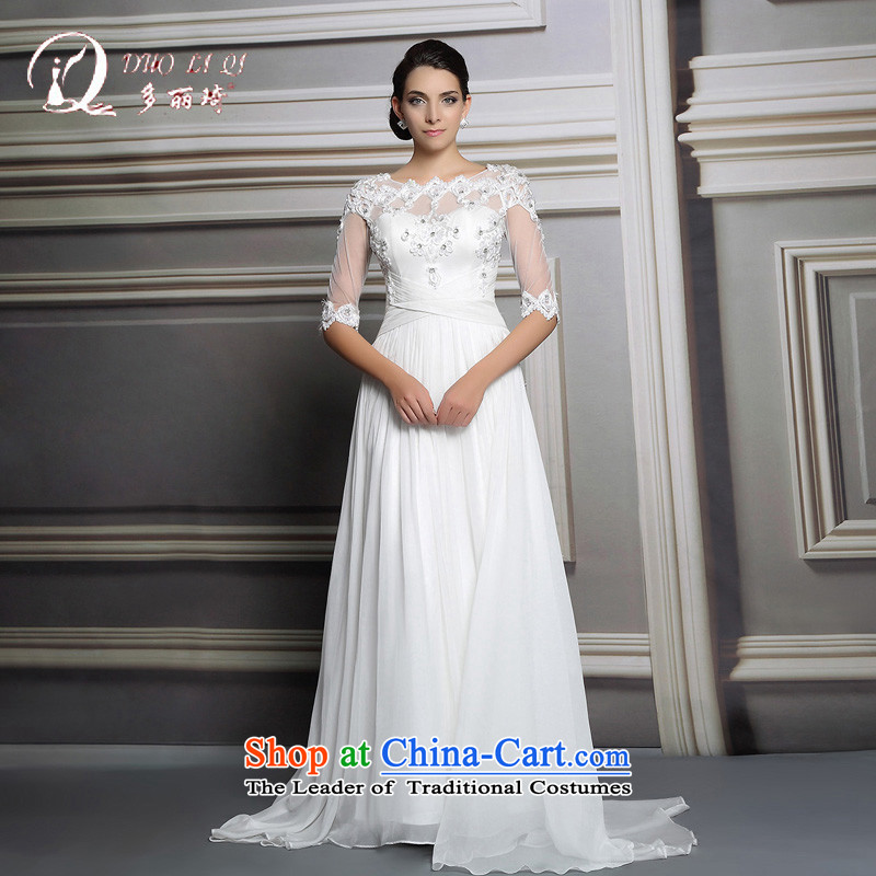 Doris Qi wedding dress, 2015 long white lace wedding dresses wedding services white L, Doris Qi (doris dress) , , , shopping on the Internet