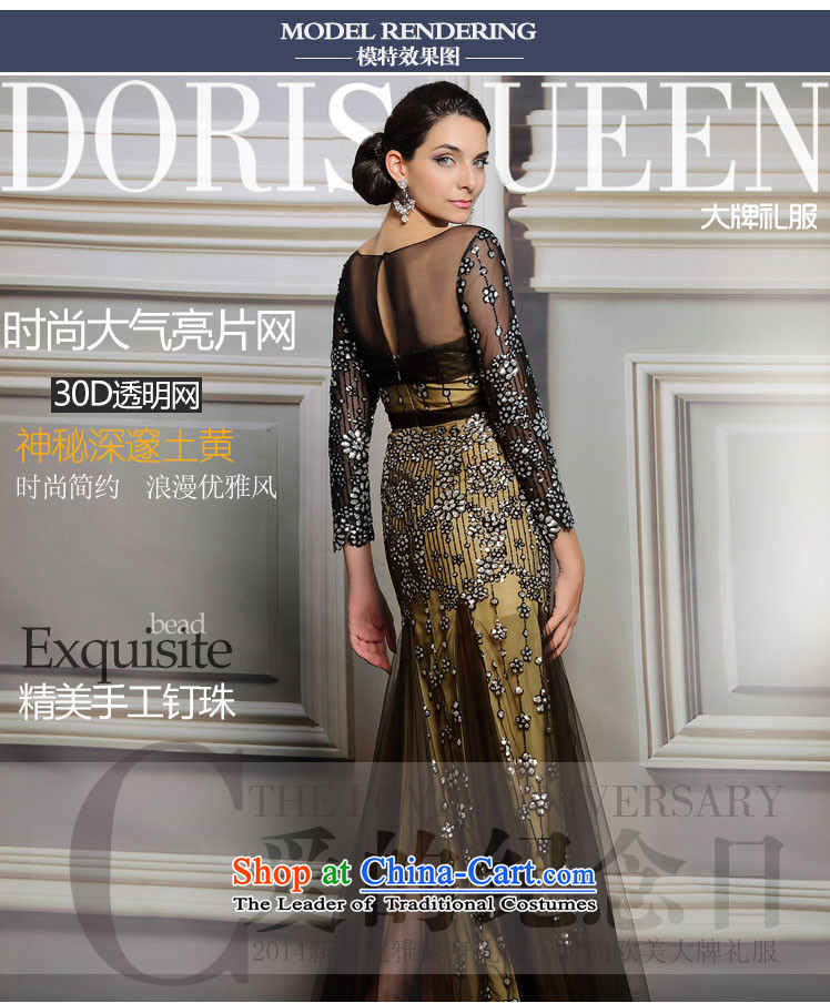 Doris Qi banquet evening dresses spring long party gathering Sau San moderator will black聽XXL picture, prices, brand platters! The elections are supplied in the national character of distribution, so action, buy now enjoy more preferential! As soon as possible.