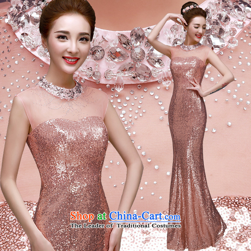 The privilege of serving-leung spring 2015 annual meeting of the new protocol moderator dress dinner will be wedding dress evening dress skirt long�XL