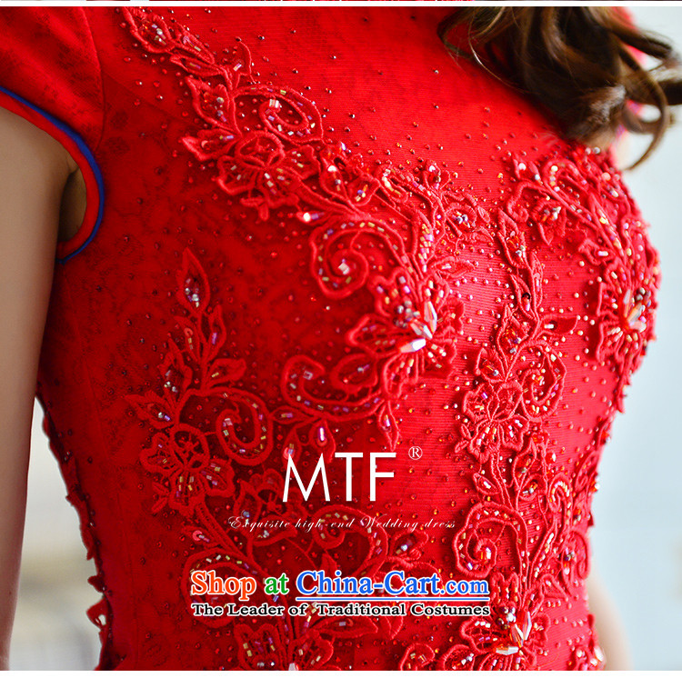 Full Chamber Fong bride cheongsam dress 2015 new winter) red collar package and lace tail crowsfoot long red tail serving drink 30cm 173-M picture, prices, brand platters! The elections are supplied in the national character of distribution, so action, buy now enjoy more preferential! As soon as possible.