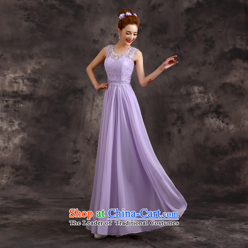 The privilege of serving-leung in the summer and autumn of 2015, the new chief of bridesmaid bridesmaid mission sister skirt evening dress bridesmaids?E07) - shoulders back?S