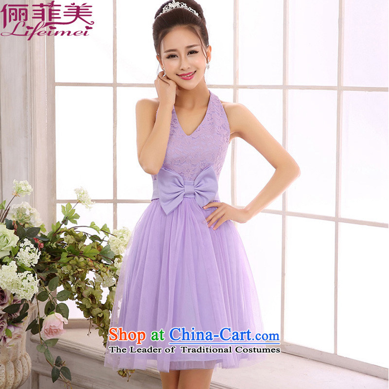 158, United States, Japan, and the rok graceful a bare shoulders lace V-NECK TOP loin gauze short of the small dining bridesmaid dress sister skirt purple聽L