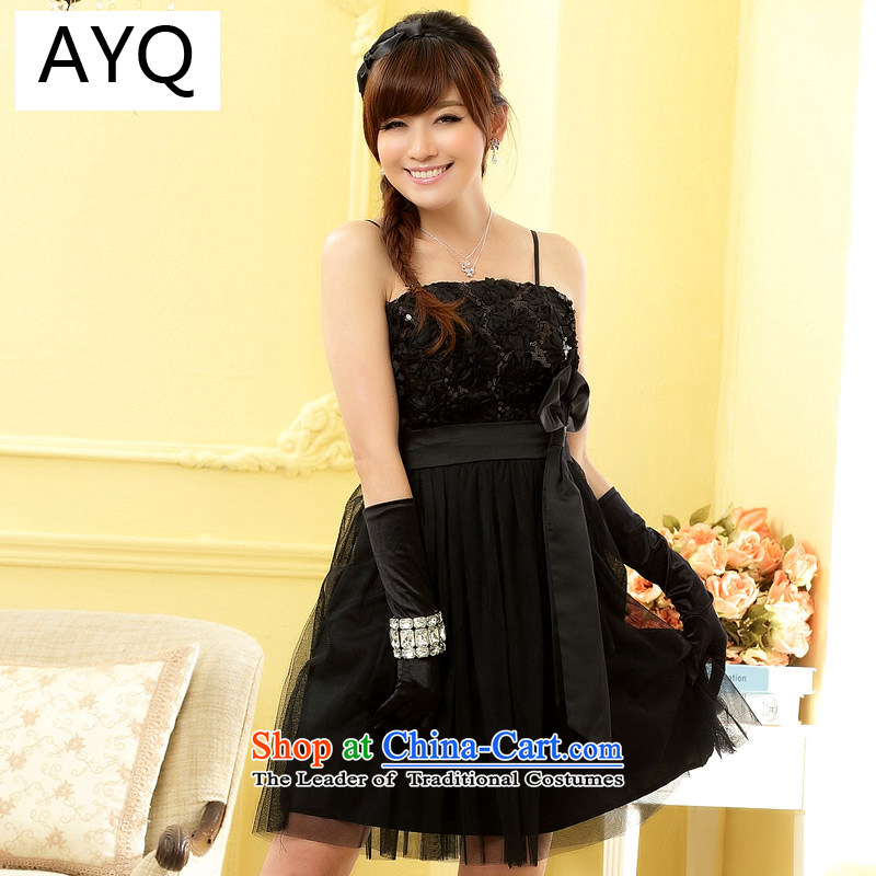 Hiv has been qi sweet bar Than Sisters skirt Foutune of chest small dress skirt (feed) 9900A-1 Stealth Black are Code F
