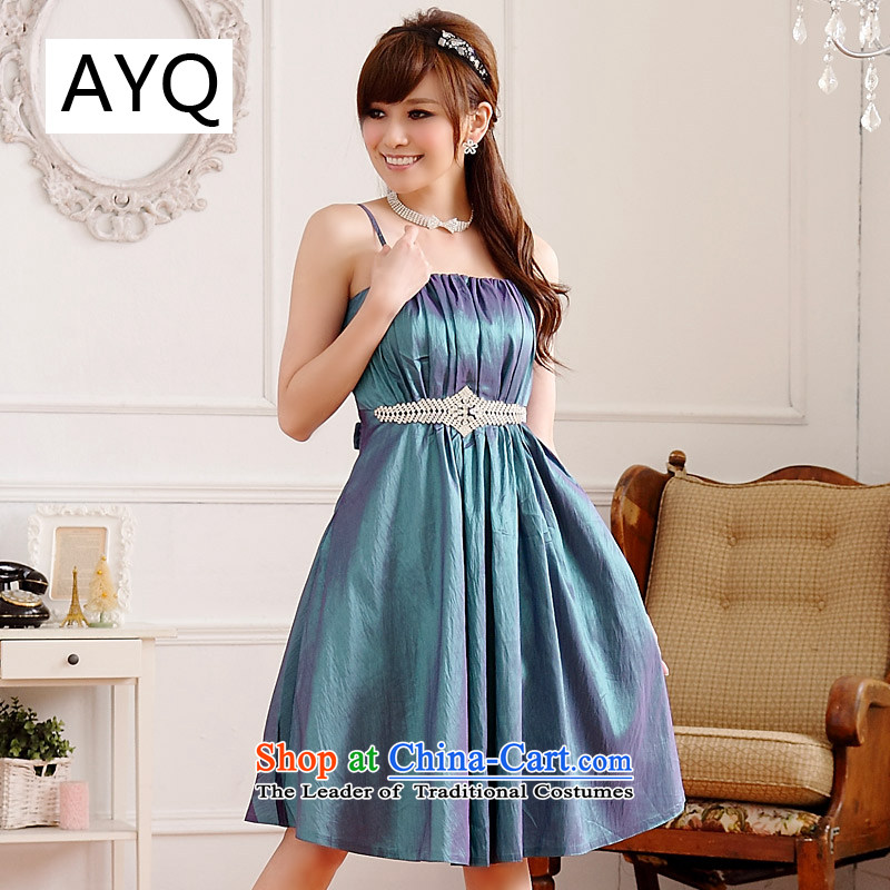 Hiv has been qi minimalist Wah Kwai-loaded thin waist belt drill lifting strap court dress dresses�9509A-1�green are code