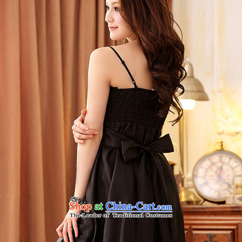Hiv has been qi thick MM evening dresses Korean spring and summer load Princess Dinner lanterns skirt pinch small dress large lifting strap dresses聽11658-1聽pink聽XL, HIV has been qi (aiyaqi) , , , shopping on the Internet