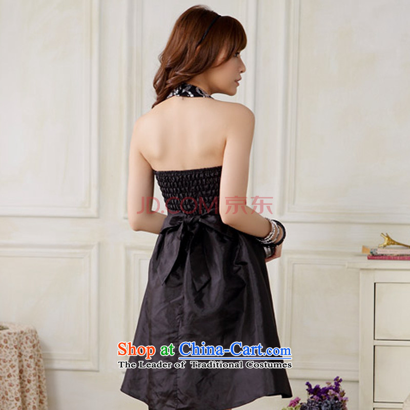 Hiv has been short of Qi Hang also dress graphics coltish waist evening sister evening dinner will dress聽code F are black 9803A-1 HIV has been qi (aiyaqi) , , , shopping on the Internet