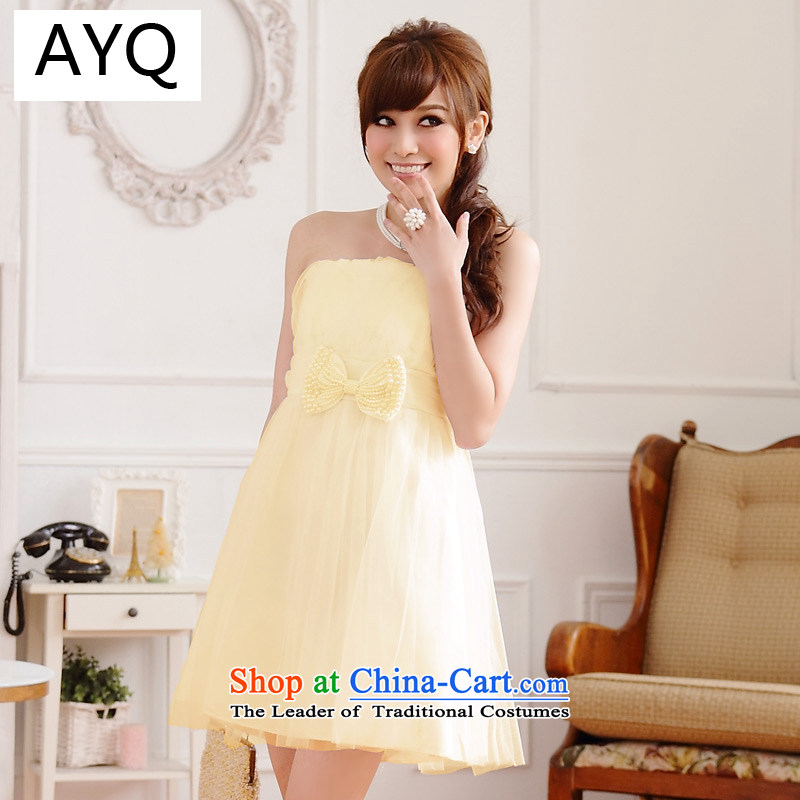 Hiv has been qi summer wedding dresses bridesmaid service expertise for larger Ms. Mary Magdalene chest of dress web dress dresses?9712A-1?champagne color?XXL