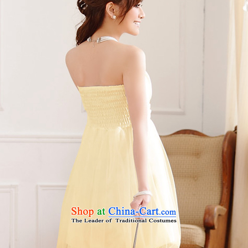 Hiv has been qi summer wedding dresses bridesmaid service expertise for larger Ms. Mary Magdalene chest of dress web dress dresses 9712A-1  XXL, champagne color has been qi (aiyaqi hiv) , , , shopping on the Internet
