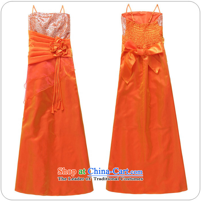 Hiv has been qi long Foutune of large banquet service upscale bare shoulders straps and sexy evening dress on chip moderator will9717A-1ORANGEXXXL picture, prices, brand platters! The elections are supplied in the national character of distribution, so action, buy now enjoy more preferential! As soon as possible.