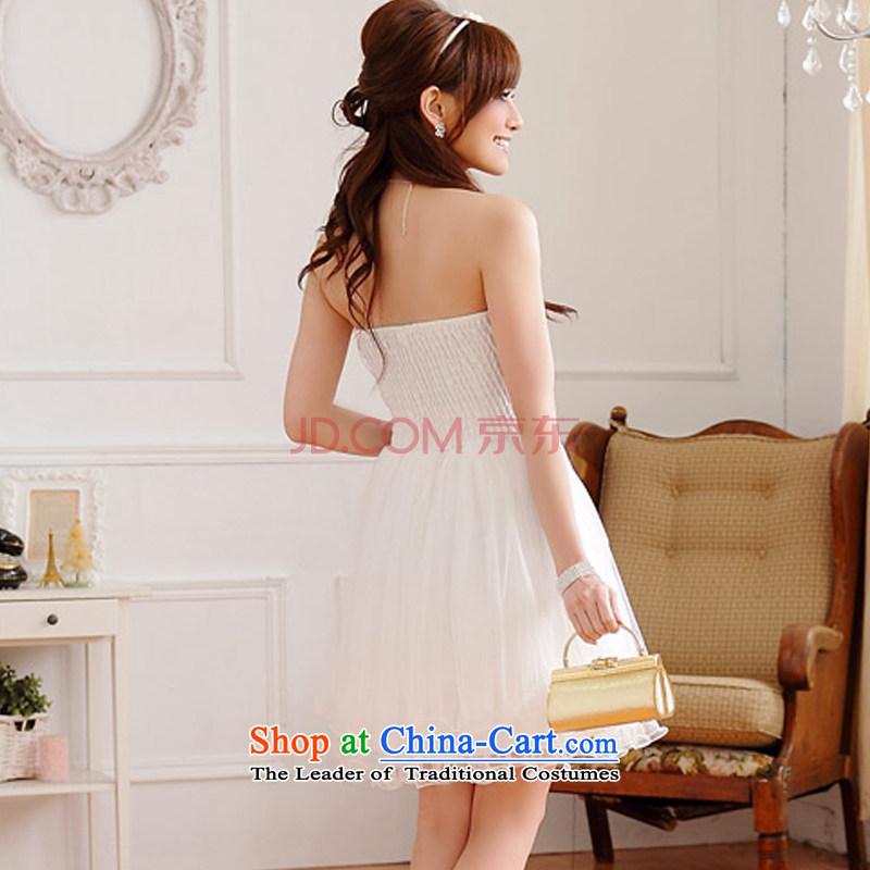 Hiv has won on film version of qi web wedding dresses dresses bon bon skirts and chest sister bridesmaid skirt (sent stealth shoulder strap)has HIV XXXL, 9100A-1 white qi (aiyaqi) , , , shopping on the Internet