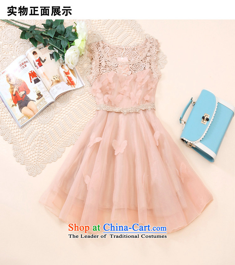Kam Garden 2015 Korean lace the yarn dresses bon bon skirt princess skirt sleeveless bridesmaid small dress dress pink聽M picture, prices, brand platters! The elections are supplied in the national character of distribution, so action, buy now enjoy more preferential! As soon as possible.