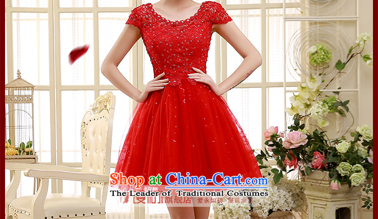 2015 new bridesmaid dress a field shoulder red lace short skirts on chip lace bon bon skirt straps small dress sister skirt REDM picture, prices, brand platters! The elections are supplied in the national character of distribution, so action, buy now enjoy more preferential! As soon as possible.