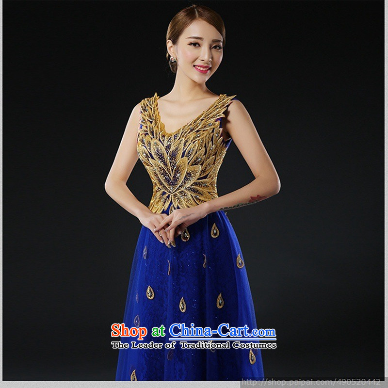 Evening dress new bows services 2015 bridal dresses long stylish red dress, Wedding Dress spring bluedoes not allow, love XXXL Su-lan , , , shopping on the Internet