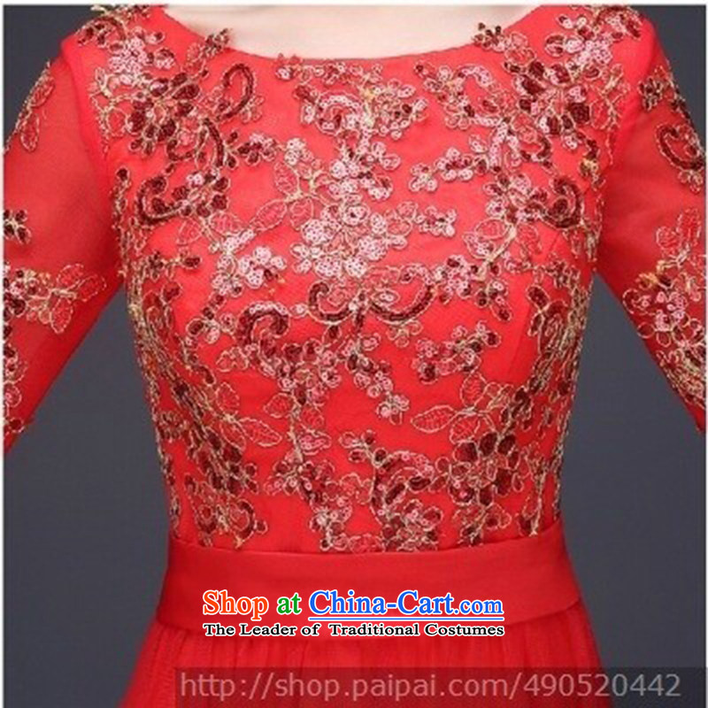 Ultra beautiful, wedding dresses, qipao and will, classically styled luxury with red dress long-sleeved聽S love Su-lan , , , shopping on the Internet