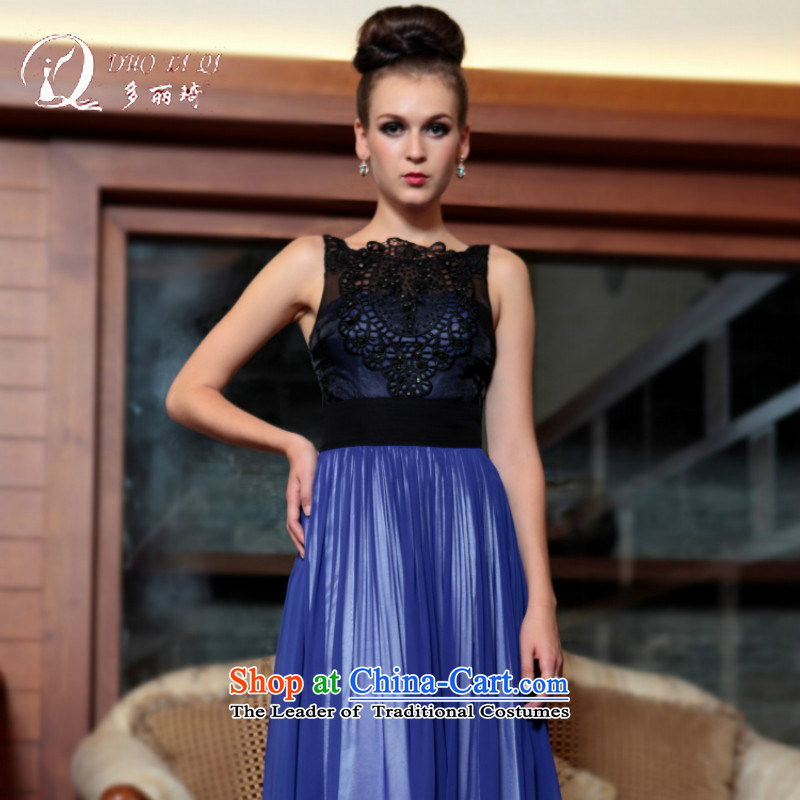 Doris Qi western dress boutique-LAI Ki-jung, foreman, evening dresses blue XL