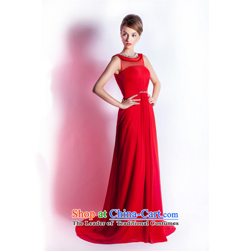 _Heung-lun's Health 2015 Spring_Summer new bride evening dresses elegant stylish dinner dance dress is pre-sale XXL