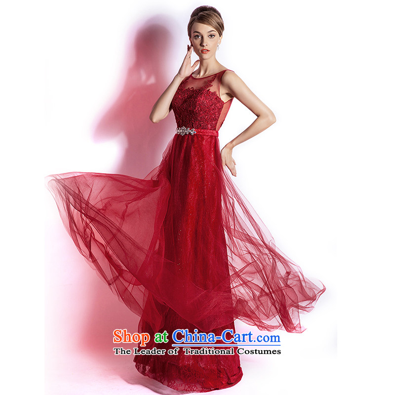 _Heung-lun's Health 2015 new marriages bows chief stylish lace tail evening dress Annual Dinner of the aristocratic?M