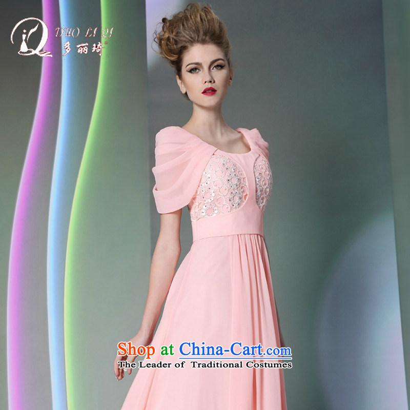Doris Ki-lady temperament bare toner adult evening dresses reception appointments moderator winter jackets video thin pink?L