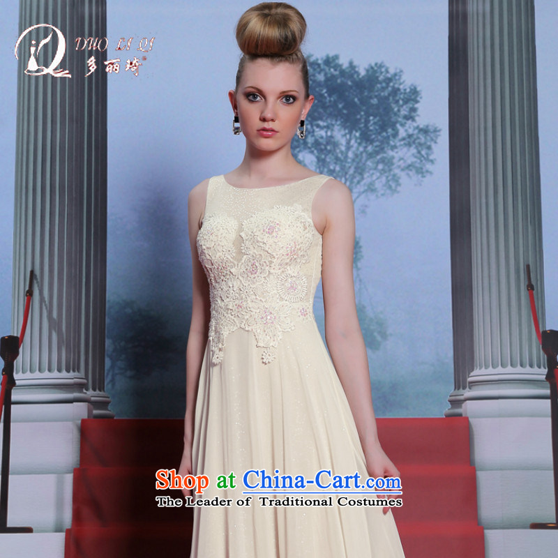 Doris Qi embroidery evening dress A Sau San concepts wedding dresses Real Marriage evening white聽L