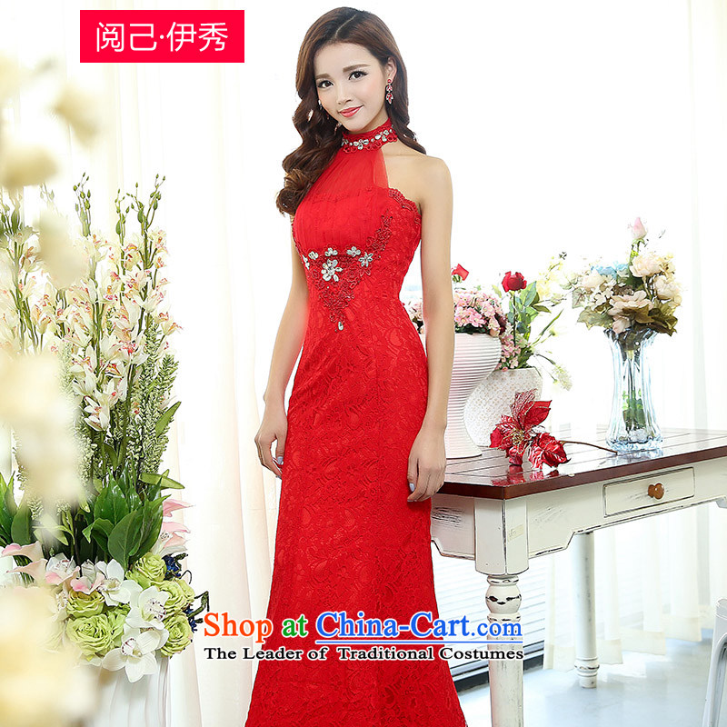 Read and el-soo spring 2015 new high-end Sau San female drawcord sleeveless back sexy wedding dresses rocketed to annual appointment�L