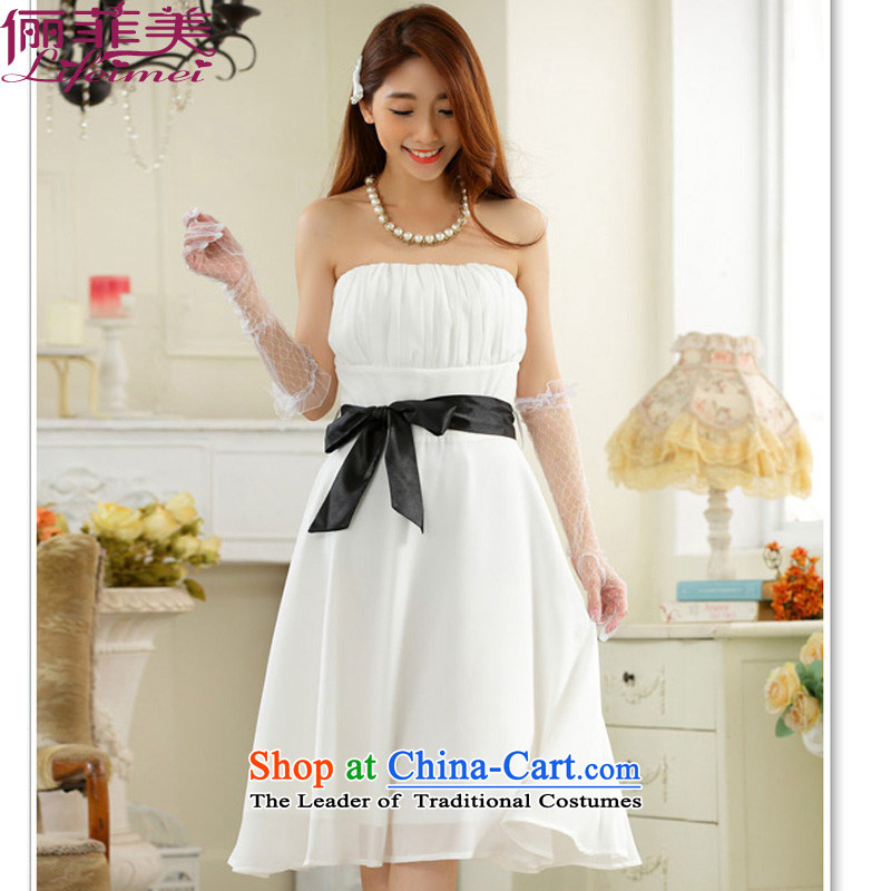 158, United States, Japan, and the rok minimalist temperament and his chest shoulder higher waist straps for larger chiffon skirt gathering sister small dress dresses White?XXL suitable for 140-160 characters catty
