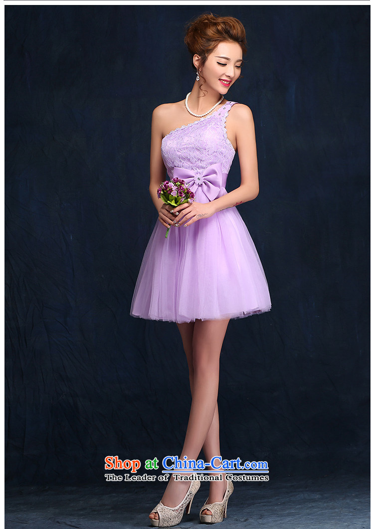 Bridesmaid Services 2015 new spring and summer sister mission dress dresses female short of marriages bows services evening dress purpleS picture, prices, brand platters! The elections are supplied in the national character of distribution, so action, buy now enjoy more preferential! As soon as possible.
