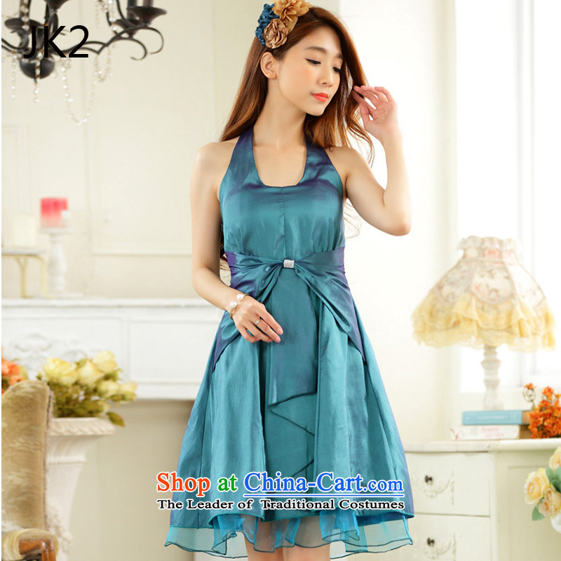 Minimalist thin waist straps in history skirt dinner small dress dresses JK29924 green聽XL