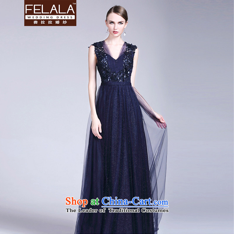Ferrara�2015 Light Gray sexy word shoulder shoulders diamond studded Foutune of Annual Dinner Banquet back evening dress long pre-sale,�L�Suzhou shipment custom