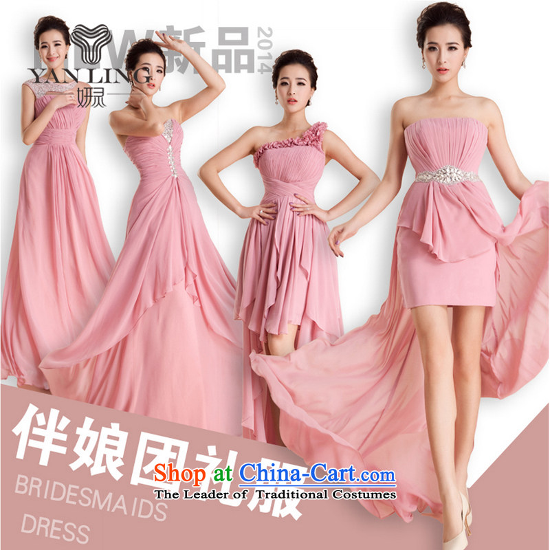 Wedding dresses large new 2015 code bridesmaid mission sister mission betrothal wedding dress marriage annual Sau San?A L