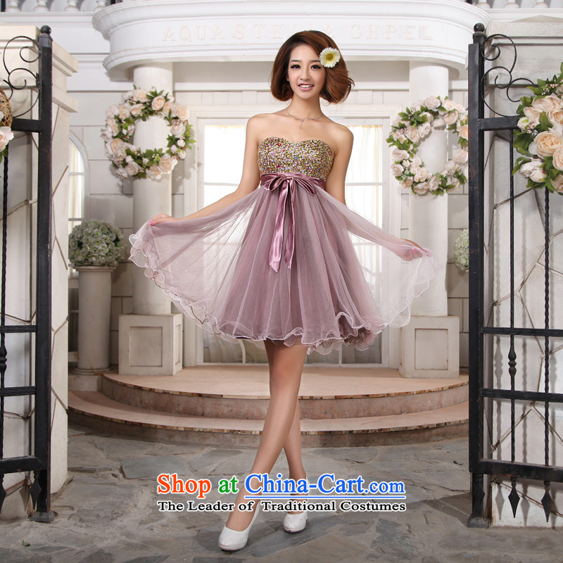 However service, marriages evening dresses spring bridesmaid pregnant women dress Wedding 2015 new Korean dress聽L