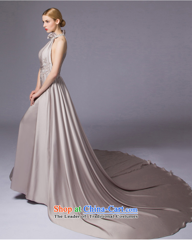 The Night Is By No Means New 2017 Hyang Ok Aristocratic Dress Banquet Evening Dresses Moderator
