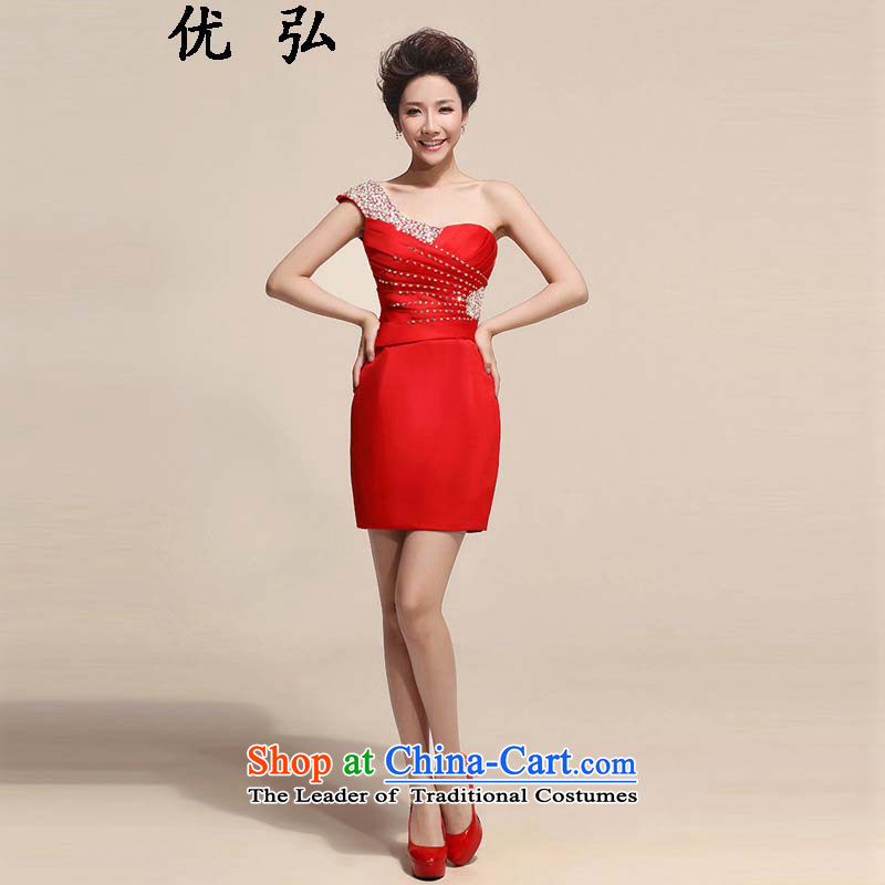 Optimize the�NEW Summer 2015 Dr Philip WONG banquet style small shoulder Sau San dress ycf021 S
