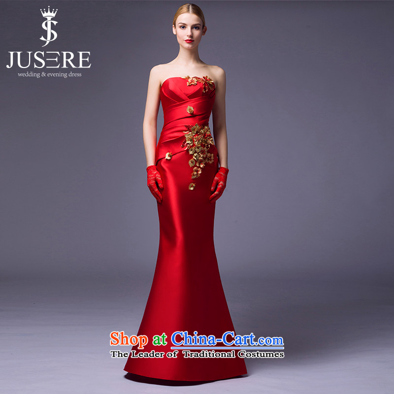 Set up is recalled that wedding dresses 2015 New Chinese crowsfoot marriages to align the slimming services Red�2 code followed