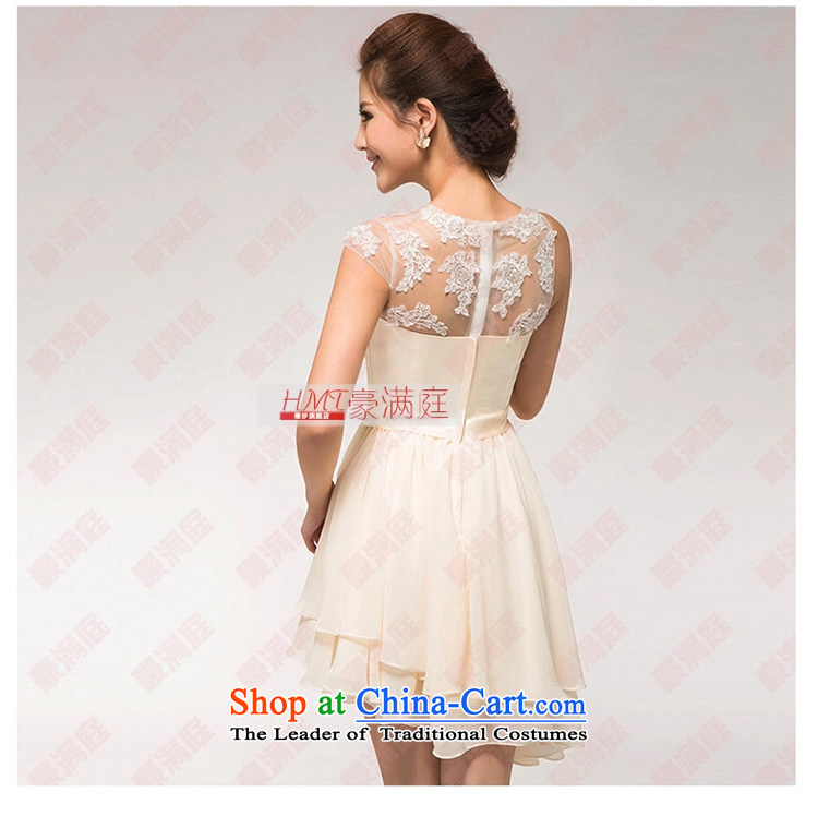 The Korean version of the new 2015 small short skirt marriages yarn dinner will lace bows bridesmaid Dress Short, Red M picture, prices, brand platters! The elections are supplied in the national character of distribution, so action, buy now enjoy more preferential! As soon as possible.