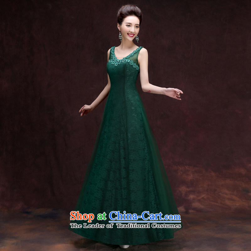 The privilege of serving-Leung Ms. evening dresses 2015 new wedding dress summer long bridesmaid to small in sister dress skirt long�L