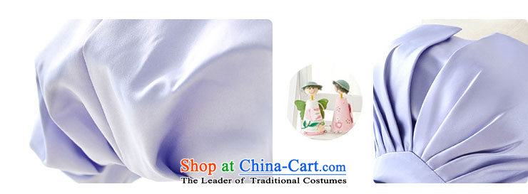 Millennium bride 2015 new Korean version of autumn and winter short of purple bridesmaid dress sister evening dresses Female dress skirt D6001 small green S/19 picture, prices, brand platters! The elections are supplied in the national character of distribution, so action, buy now enjoy more preferential! As soon as possible.