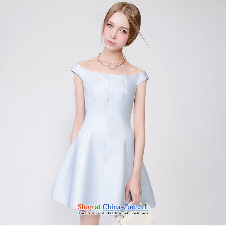 Diffuse shark land 2015 Spring/Summer new products lady temperament small incense wind graphics thin Foutune of dresses dress photo color?XS