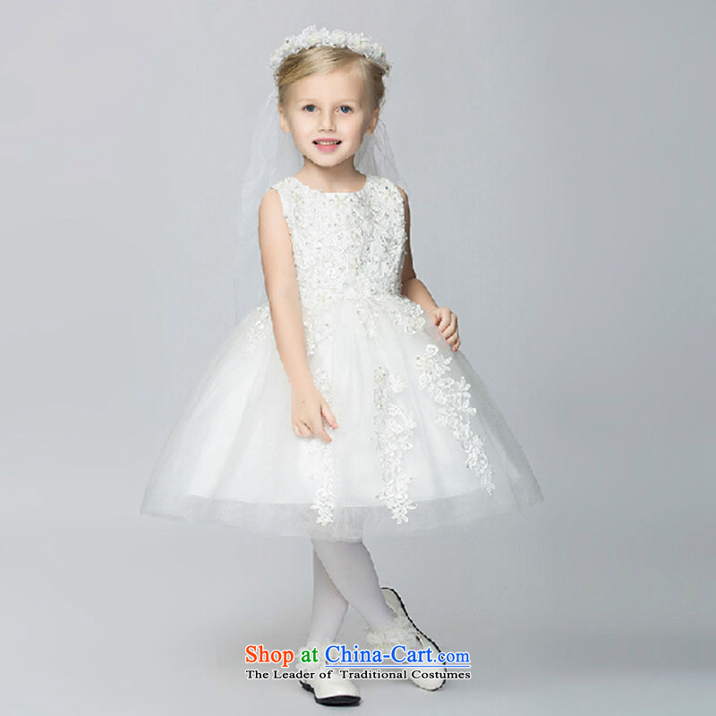 Children's apparel princess skirts dress girls dress will spring bon bon skirt Flower Girls dress Summer Wedding Dress White?150