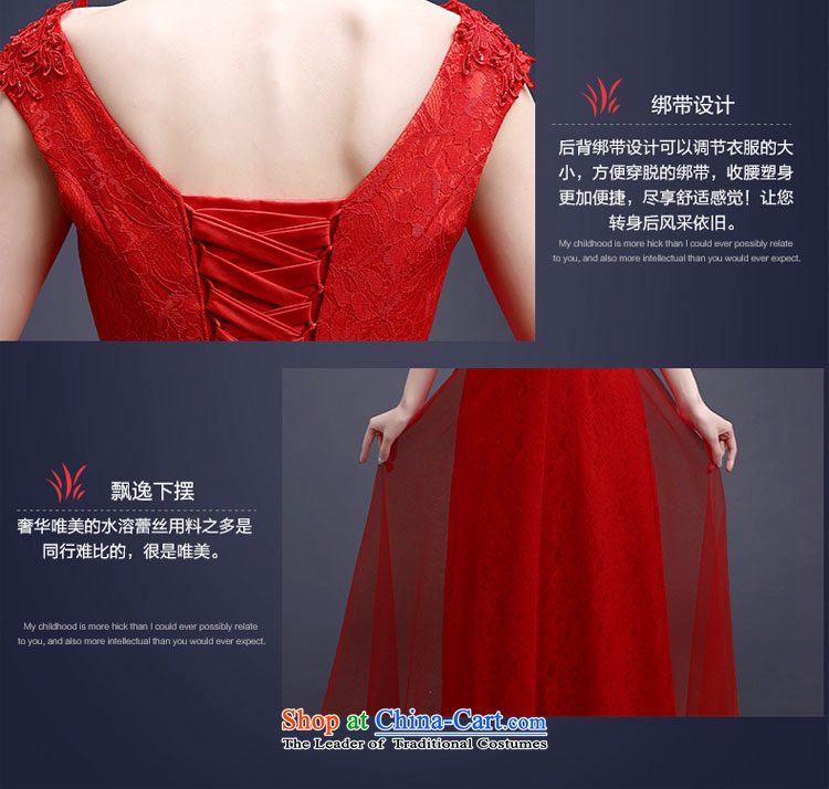 Each red bride bows services Connie Summer Spring 2015 new long stylish shoulder straps lace video thin wedding dress female LF RED XL Photo, prices, brand platters! The elections are supplied in the national character of distribution, so action, buy now enjoy more preferential! As soon as possible.