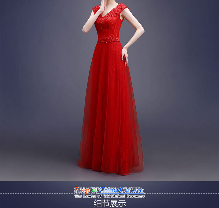 Each red bride bows services Connie Summer Spring 2015 new long stylish shoulder straps lace video thin wedding dress female聽LF聽RED聽XL Photo, prices, brand platters! The elections are supplied in the national character of distribution, so action, buy now enjoy more preferential! As soon as possible.