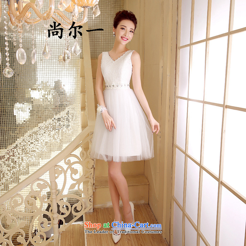 Naoji summer evening dress short, banquet and sisters in champagne color moderator small dress code 52810 skirt are white