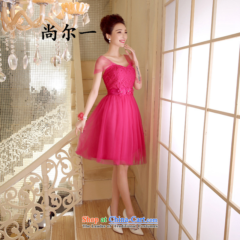 Yet, a wedding dresses new bridesmaid Dress Short of mission sister skirt bridesmaid services bon bon skirt small dress code 52813 rose red are