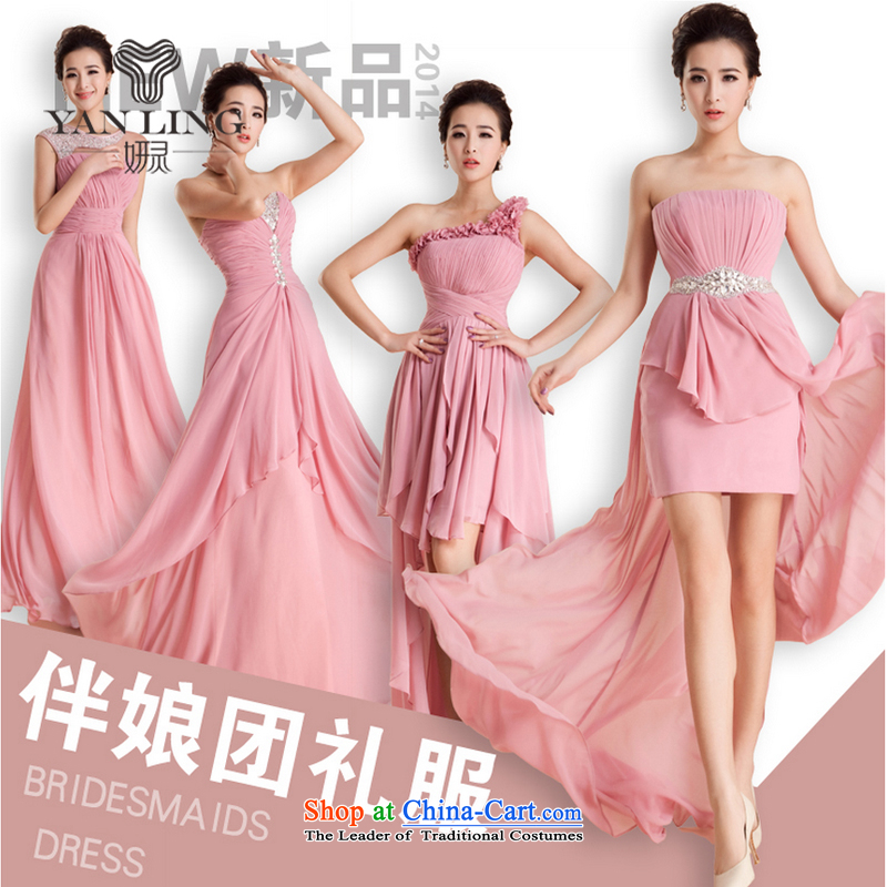 Charlene Choi Ling wedding dresses large new 2015 code bridesmaid mission sister mission betrothal wedding dress marriage annual Sau San?M
